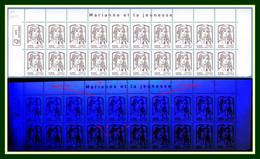 Variété Projection Pho Bloc De 20 Yv. 4779 ** MNH Marianne Jeunesse Ciappa - Abarten: 2010-.. Ungebraucht