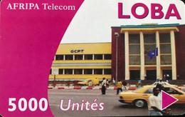 CONGO  -  Prepaid  -  AFRIPA Telecom - BOBA  - 5000 Unités - Congo
