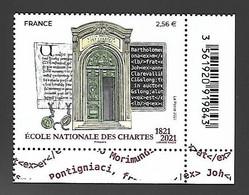 France 2021 - Yv N° 5472 ** - École Nationale Des Chartes - Unused Stamps