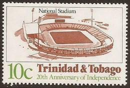 Soccer Football Trinidad & Tobago #461 1982 MNH ** Stadium - 1982 – Espagne