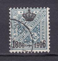 Wuerttemberg - 1906 - Dienstmarken - Michel Nr. 217 - Gestempelt - 65 Euro - Wurtemberg