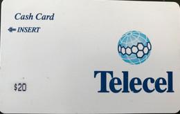 CONGO  -  Prepaid  -  Telecel  -  Cash Card  -  $ 20 - Congo