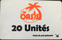 CONGO  -  Prepaid  -  OASIS  -  20 Unités - Congo