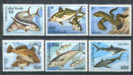 295 - CAP VERT 1980 - Yvert 425/30 - Poisson - Neuf **(MNH) Sans Trace De Charniere - Cape Verde