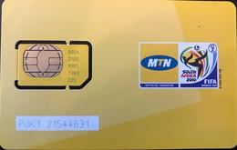 CONGO  -  Carte GSM With Chip  -  MTN  -  Y'ello - Congo