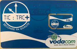 CONGO  -  Carte GSM With Chip  - Vodacom Tic:Tac +  -  32 K - Congo