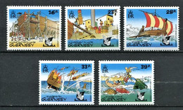 295 - GUERNESEY 1992 - Yvert 575/79 - ASTERIX Operation - Neuf **(MNH) Sans Trace De Charniere - Guernsey