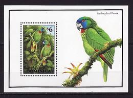 Dominica, 1993, Birds, Parrot, S\s Block - Parrots