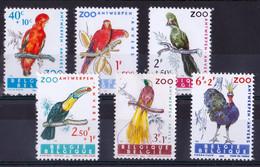 1962, Mint Lightly Hinged, Exotic Birds - Otros
