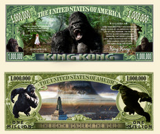 !!! USA - FANTASY NOTE -  KING  KONG , 2013 - UNC - Other