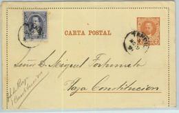 94041 - ARGENTINA - POSTAL HISTORY - STATIONERY LETTER CARD For The City TANDIL Jalil # Cap 10  1891 - Ganzsachen