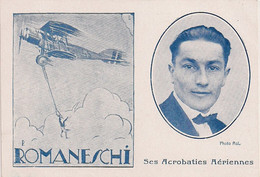 Aviation - Parachutiste Tessinois Plinio Romaneschi - Paracaidismo