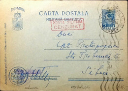ROUMANIE / ROMANIA 1944 (21/04) Censored Military PCard Mi.FP10.I From APO N°5995 - Briefe U. Dokumente