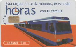Ladatel Mexique : Esta Tarjeta Ne Te Da Minutos, Te Va A Dar Horas Con Tu Familia. - Trenes