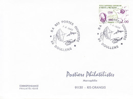 France-Doullens-1/9/1980-Base Aérienne 922 Portes Ouvertes-Hélicoptère,avion,dadar - Hubschrauber