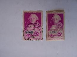 FRANCE ALGERIE FRANCAISE  2 X  CHOISEUL L'un OBLITERE Avec Un Cachet ALGER 26-3-1949 Et Le Second NEUF   , - Oblitérés