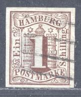 Hamburg 2 Sauber Gestempelt - Hambourg