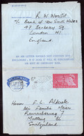 Great Britain  - Letter - Aerogramme - 1952 - Sent To Switzerland - A1RR2 - Covers & Documents