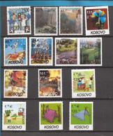 MISTO 104  KOSOVO EU-CEPT 2000-07 COMPLET SAMMLUNG SELTEN    INTERRESSANT JETZ KAUFEN FUER SAMMLUNG-GUTE QUALITAET  -MNH - 2003