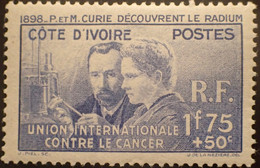 R2452/202 - 1938 - COLONIES FR. - CAMEROUN - PIERRE Et MARIE CURIE DECOUVRENT LE RADIUM - N°140 NEUF* - Neufs