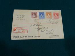 Nauru 1937 Coronation Register FDC - Nauru