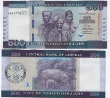 Liberia - 500 Dollars 2020 UNC Lemberg-Zp - Liberia