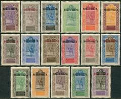 Dahomey 1920. Michel #1/17 MNH/Luxe. Fauna. Animals. Camel Rider (Ts48) - Neufs