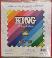 SAN MARINO 2006 FOGLI KING NUOVI - Stamp Boxes