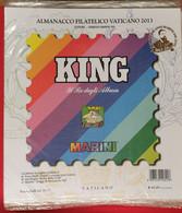 VATICANO 2013 FOGLI KING NUOVI - Stamp Boxes