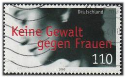 Allemagne 2000 Yv. N°1924 - Pas De Violence Envers Les Femmes - Oblitéré - Oblitérés