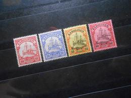 D.R.9/10/11/15**MNH  Deutsche Kolonien (Karolinen) 1900/10  Mi 20 € - Lot 445 - Colonia: Islas Carolinas
