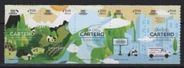 Mexico (2020) - Set -  /  Postman Day - Bikes - Velo - Motorbikes - Cars - Correo Postal