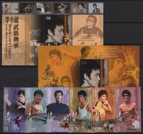 Hong Kong (2020)  - Set + 2 Blocks -  /  Cine - Cinema - Artists - Actors - Bruce Lee - Martial Arts - Cinema