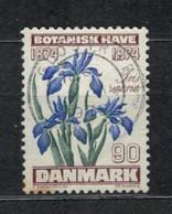 1974   Blue Iris (Iris Spuria L.) - YT 584 - Unificato 584- MI 575 - Usado