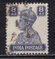 INDIA Scott # 178 Used - KGVI - 1936-47  George VI