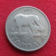 Malawi 20 Tambala 1971 KM# 11.1 *V1 Elephant - Malawi