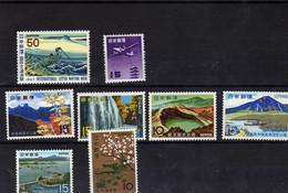 Japon (1966-68) -   Parcs Nationaux -  Petit Lot De Neufs**- MNH - - Nuevos