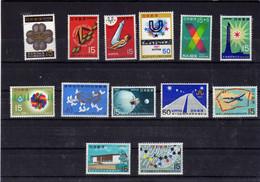 Japon (1965-67)- Petit  Lot De  Neufs** - MNH - Nuevos