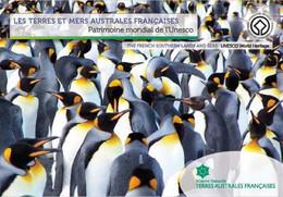 Fsat 2020 Taaf Bird Pinguin Fish Seas Land Rock Patrimoine UNESCO Aves Vogel BOOKLET PRESTIGE 12V Mnh - Neufs