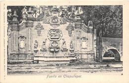 MEXIQUE - FUENTE EN CHAPULTEPEC - México