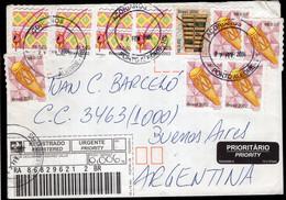 Brasil - 2004 - Lettre - Envoyé En Argentina - A1RR2 - Lettres & Documents