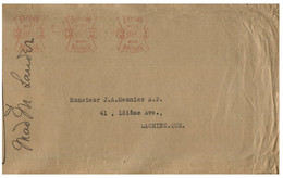 (JJ 23) Canada - Posted From Prevoyance Insurance Company To Lachine (Quebec) In 1931 ? (2 Cents Postage) - Briefe U. Dokumente