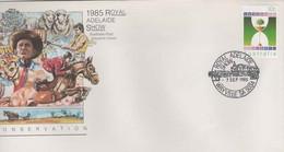 Australia PM 1230 1985 Royal Adelaide Show, FDI Souvenir Cover - Marcofilie