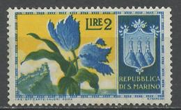 Saint Marin - San Marino 1953 Y&T N°375 - Michel N°504 *** - 2l Tulipes - Ungebraucht
