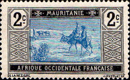 Mauritanie Poste N** (Yv: 18 Mi 18 Yv:0,5 Euro) Caravane Du Desert - Neufs