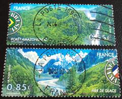 TIMBRES   DE    FRANCE   N° 4255/4256     OBLITÉRÉS  ( LOT:6563) - Usados