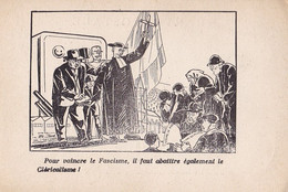 POUR VAINCRE LE FASCISME, IL FAUT ABATTRE EGALEMENT LE CLERICALISME - Unclassified