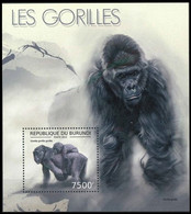 BL481** (2228)  - Les Gorilles / Gorilla's / Gorillas - BURUNDI - Monkeys