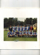 HERSELT : Voetbalclub : 2 Foto's  (  Zie Scans )  - Met Reclame GORY - Places