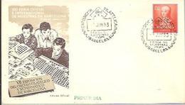 MATASELLOS 1953  BARCELONA - 1951-60 Lettres